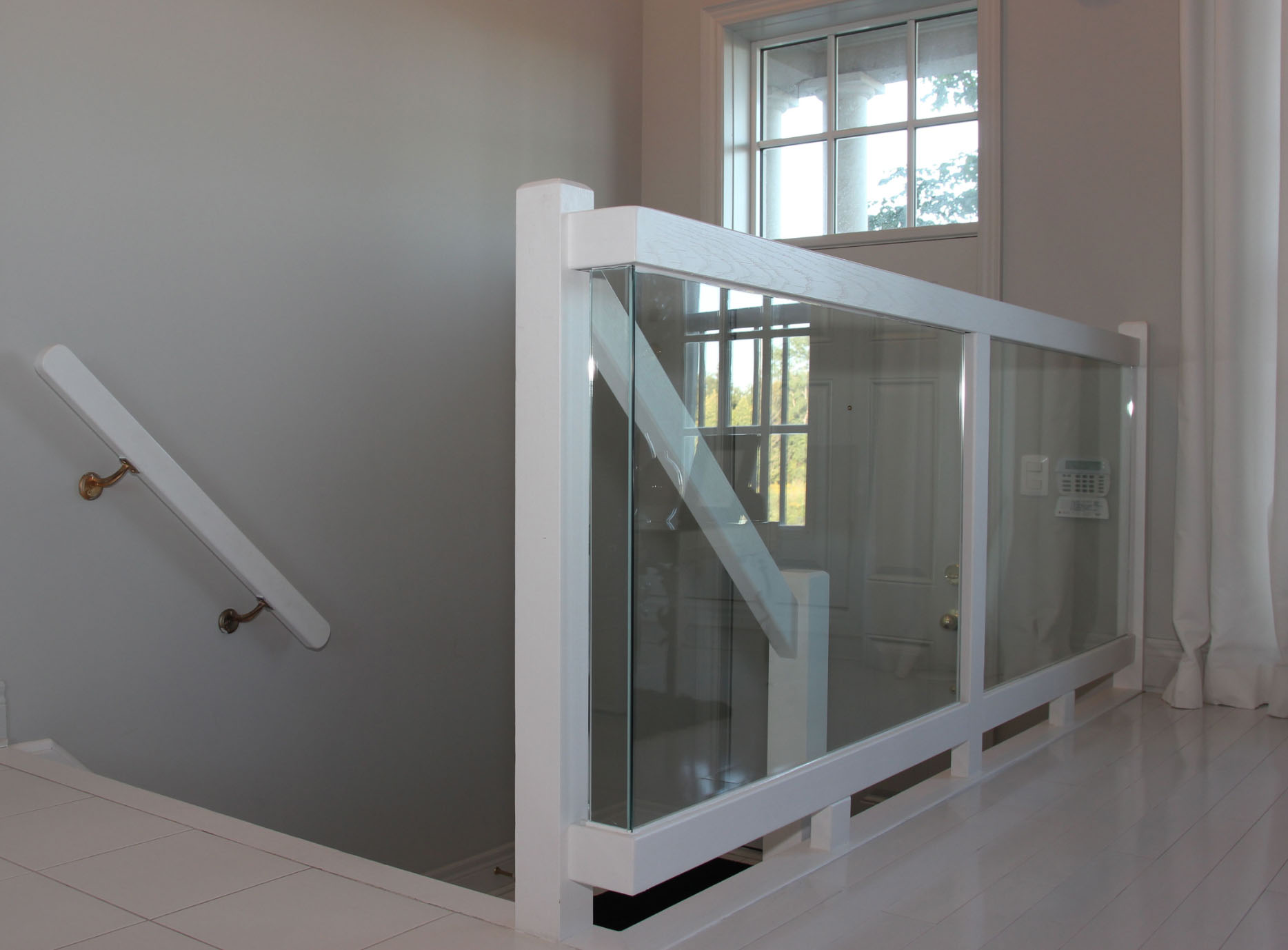 industries img inc railing wood steel amaral custom interior railings