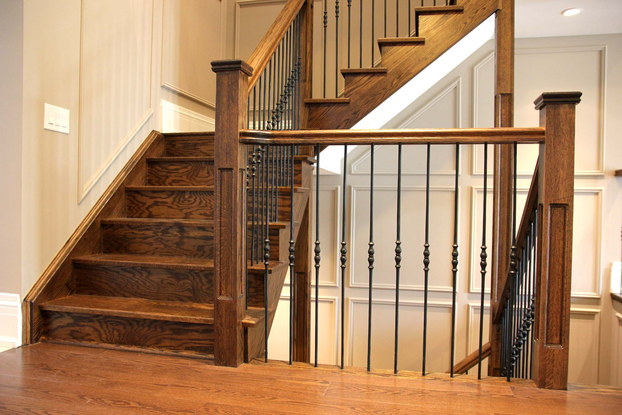 Interior Wrought Iron Railings